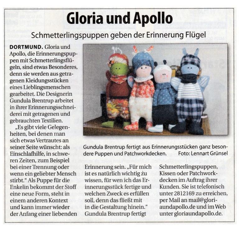 Stadtanzeiger Zeitungsartikel