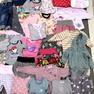 Babyerinnerung Kleidung rosa