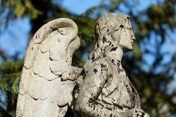 Engel Erinnerungen an verstorbenen Vater