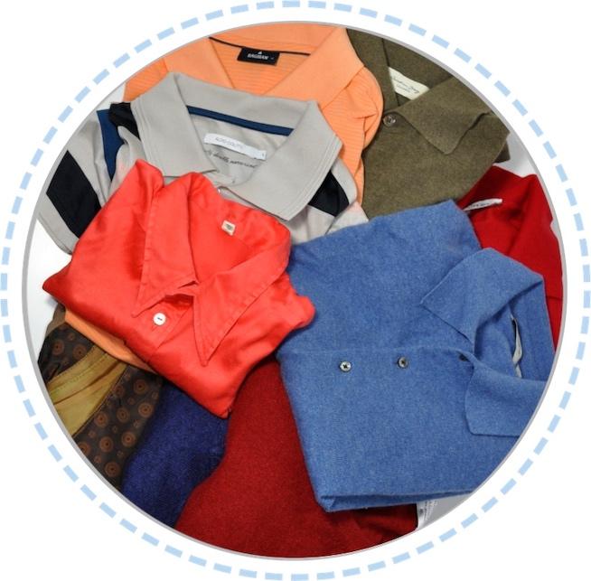 Kleidung vorher Patchworkdecke blau rot